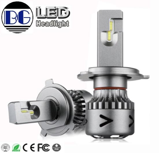 High Blight 9006 H4 2 Sides Lighting 12000LM Led Headlight Bulbs Car Light  6500K